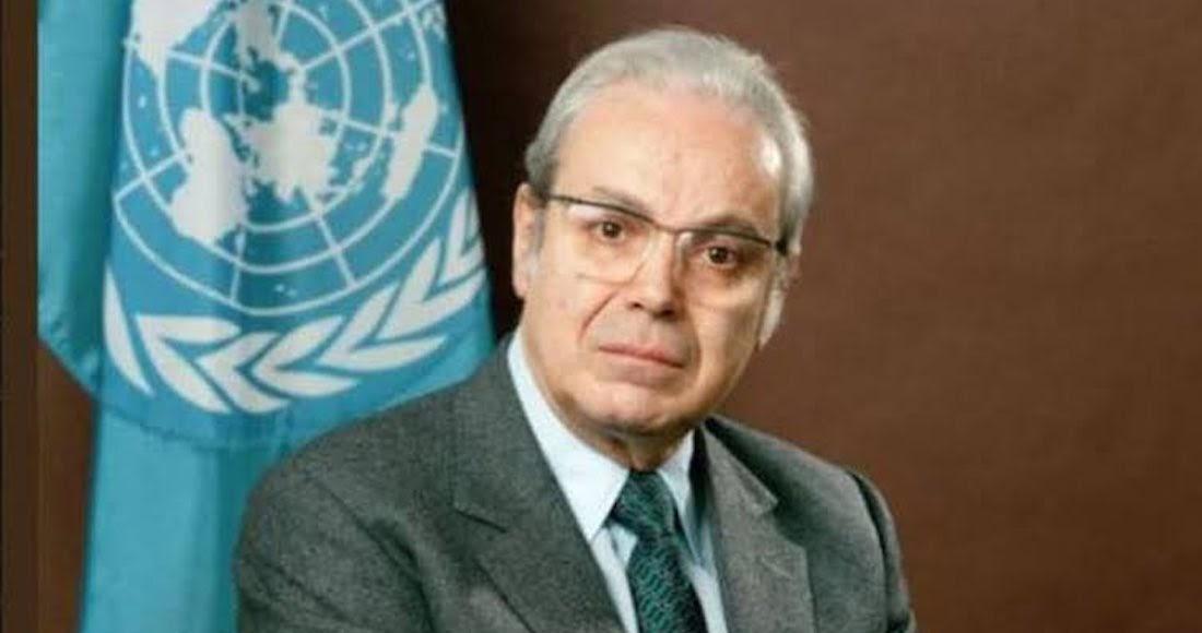 Muere a los 100 años, exsecretario general de la ONU Javier Pérez de Cuellar
