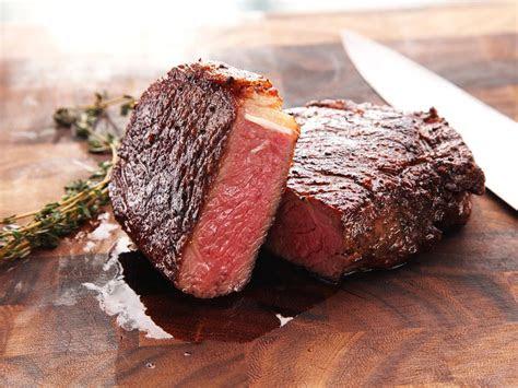 sous vide steaks recipe dishmaps