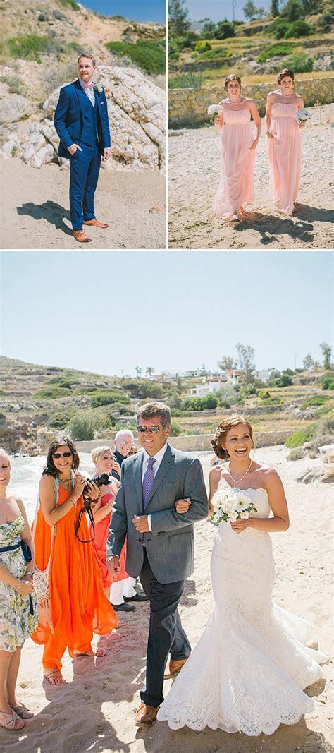 A Greek Destination Wedding On Tzamaria Beach In iOS With