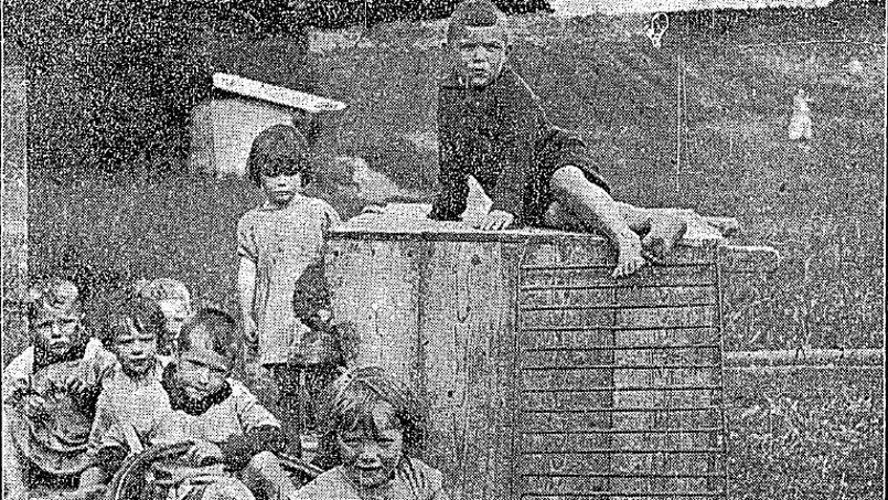 Fac-similé d'un article de 1924 décrivant la vie dans une Mother and Baby Home, semblable à celle de Tuam, dans la région de Galway. Crédit photo: Limerick1914/Twitter