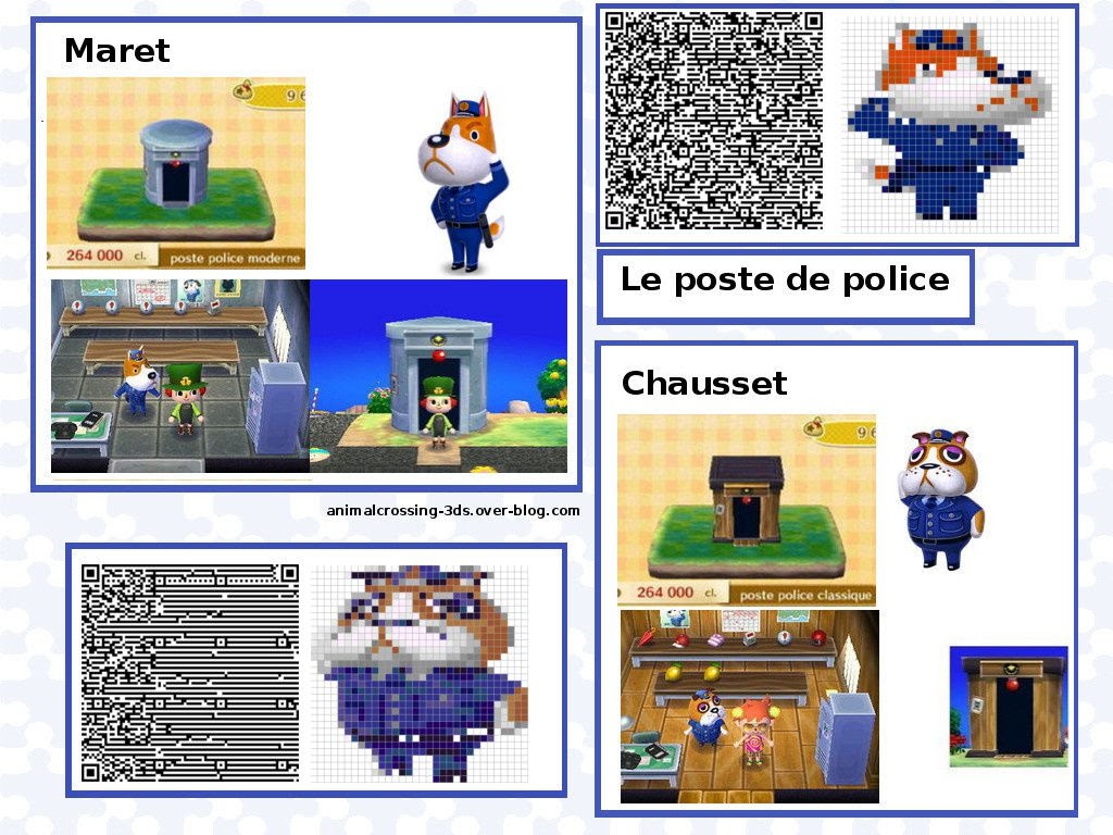 Les Personnages Animal Crossing New Leaf
