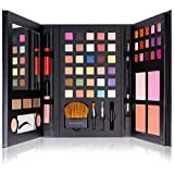 #10: SHANY Luxe Book Makeup Set - All In One Travel Cosmetics Kit with 30 Eyeshadows, 15 Lip Colors, 5 Brushes, 4 Pressed Blushes, 3 Brow Colors, and Mirror