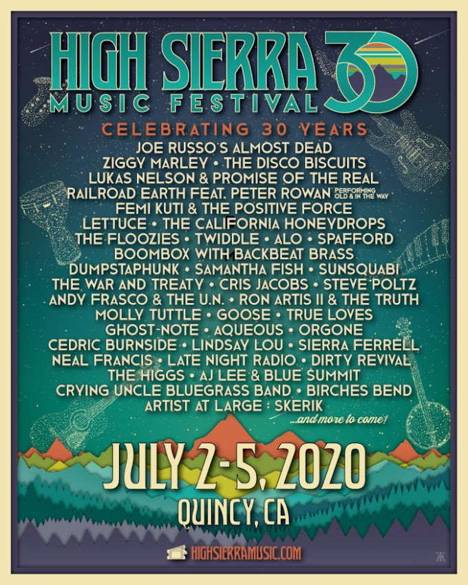 High Sierra Announces Lineup Additions: Ziggy Marley, The Disco Biscuits, Lukas Nelson & Promise of the Real and More