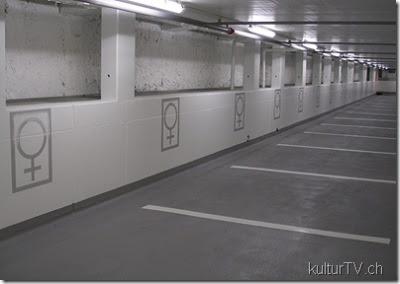 Parking fuer Frauen