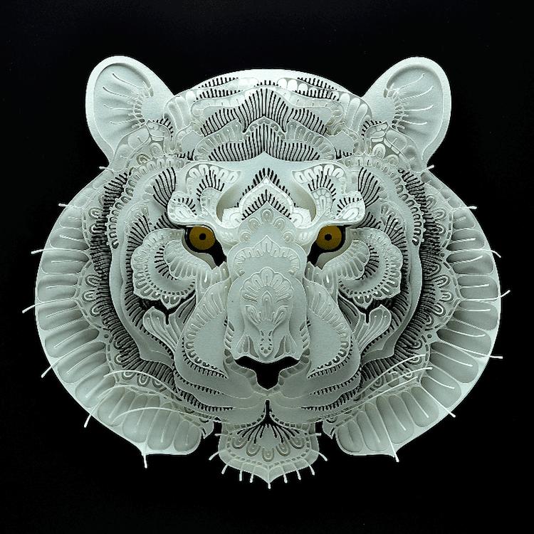 Art découpé en papier