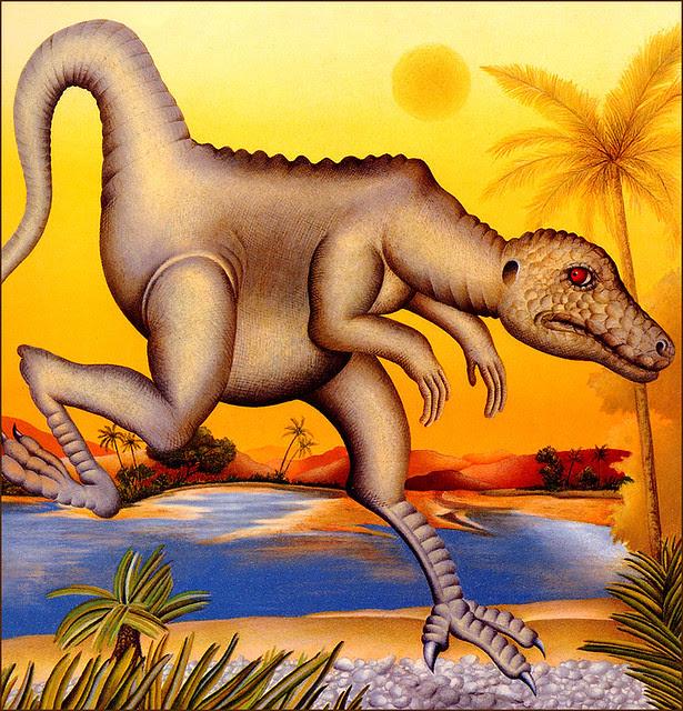Etienne Delessert - La Rivieredes Dinosaures