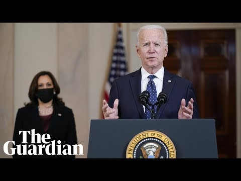 'Systemic racism is a stain on our nation': Biden and Harris react to Derek Chauvin verdict