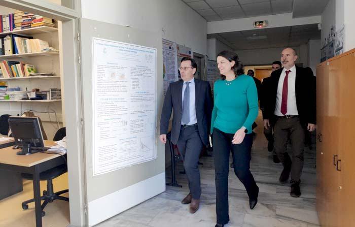 Γιάννενα: Επίσκεψη Ν. Κεραμέως στο τμήμα Πληροφορικής και Τηλεπικοινωνιών του Πανεπιστημίου Ιωαννίνων