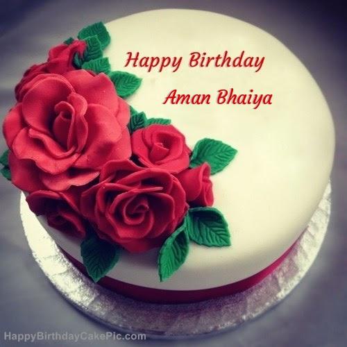 Freedom Happy Birthday Aman Bhaiya Cake Images Provides unique collection of happy birthday cake with name and photo. happy birthday aman bhaiya cake images