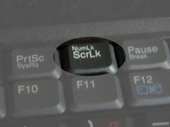 numlock key