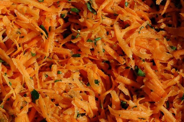 Salade de carottes râpées by Eve Fox, Garden of Eating blog