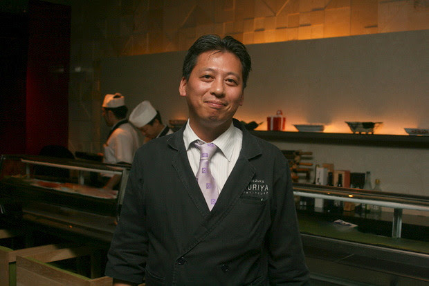 Kuriya Penthouse Master Chef and General Manager KOEZUKA Yoshihiko