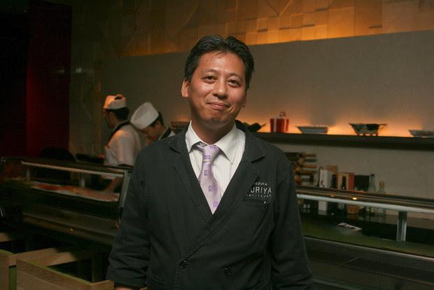 Kuriya Penthouse Master Chef and General Manager KOEZUKA Yoshihiko