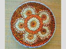 42 Aarti Plate Decoration, Wedding Aarthi Plates Flower Fruits Beads Spices Peacock Etc