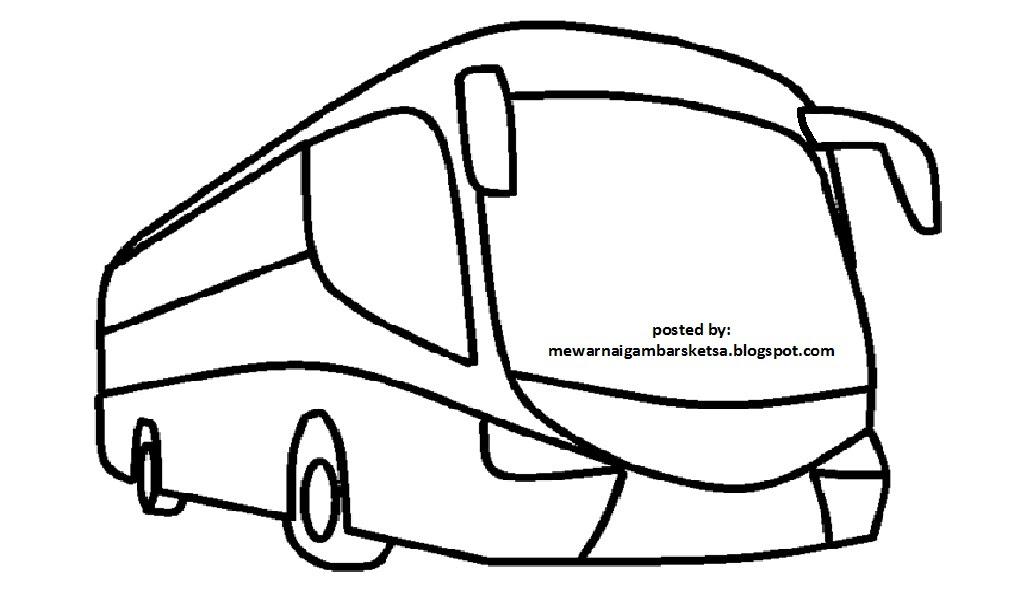 Gambar Mewarnai Mobil Bus Auto Electrical Wiring Diagram
