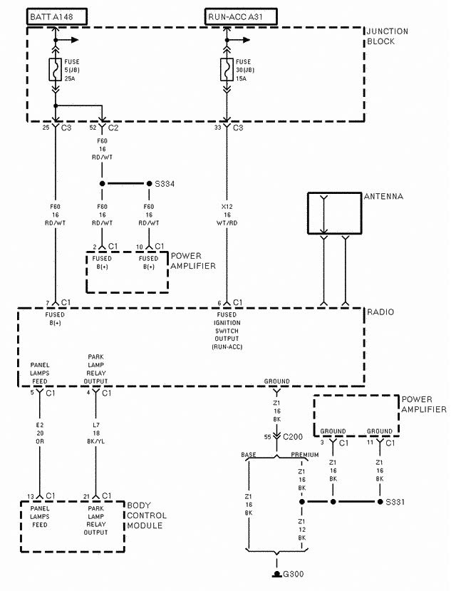31 2001 Jeep Grand Cherokee Radio Wiring Diagram