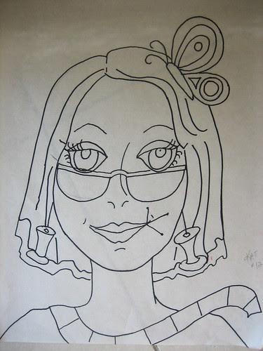 #13 - Kat - the drawing