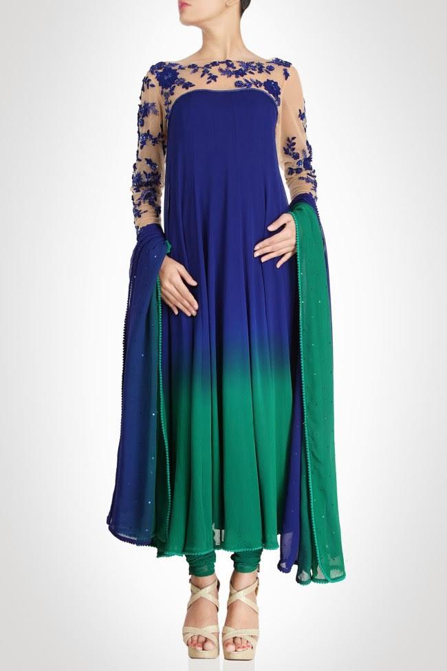 Beautiful-Bridal-Wedding-Lehanga-Choli-Saree-Anarkali-Churidar-New-Fashion-Dress-by-Designer-Surily-Goel-7
