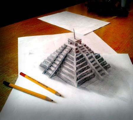 creative illusion creative pencil drawings xcitefunnet