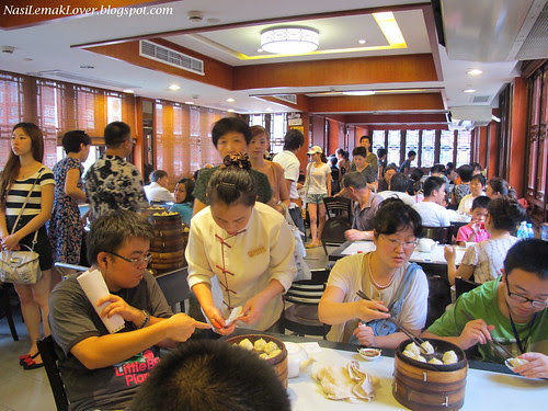 Nanxiang steamed dumplings, Shanghai China