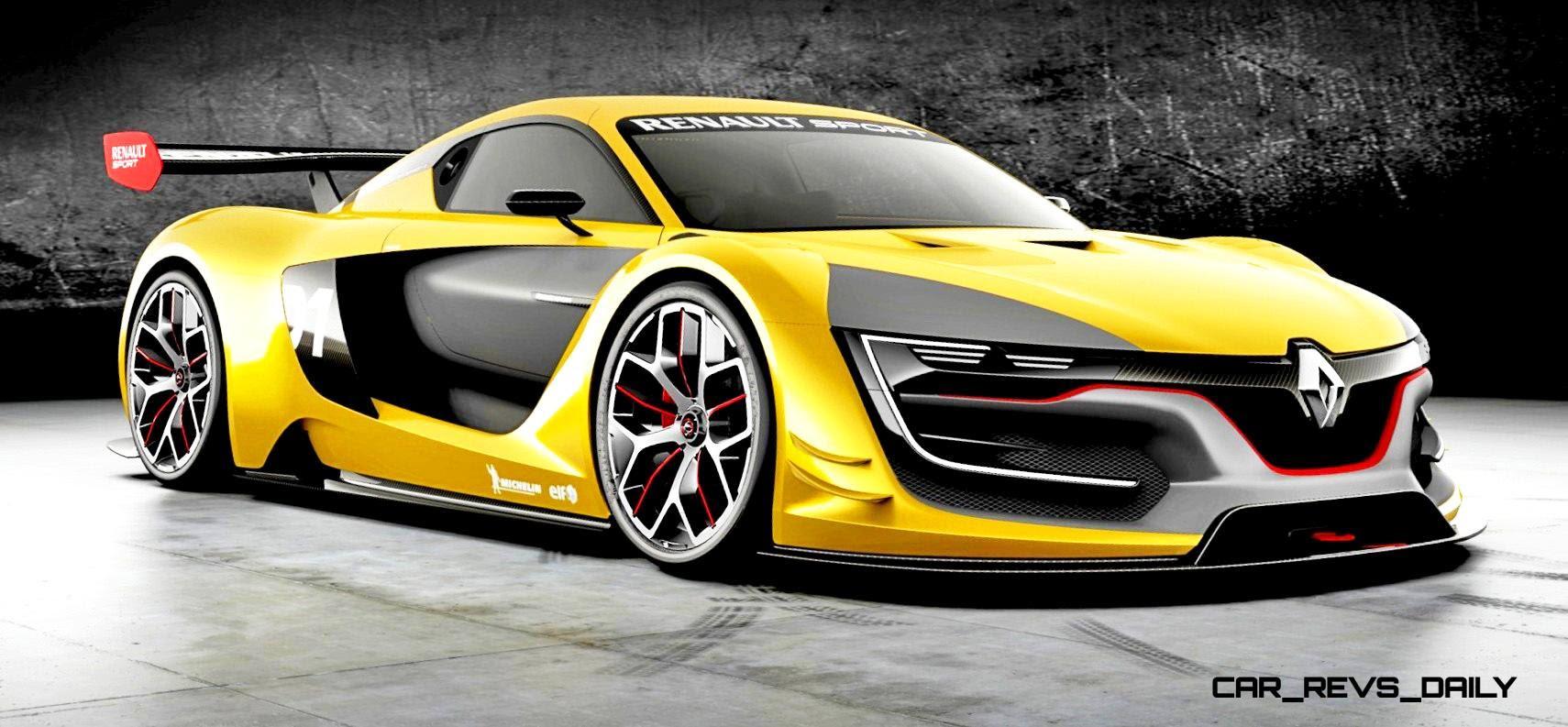 RenaultSport R.S. 01 Racecar Runs GT-R Engine In Mid-Ship ...
