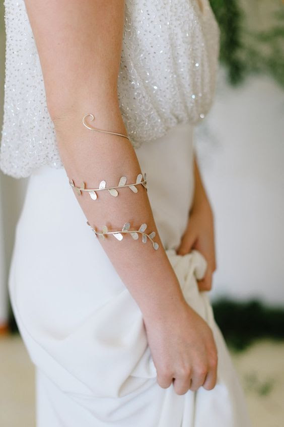 einzigartige grünen Hochzeit Armband getragen werden kann, während der Flitterwochen auch