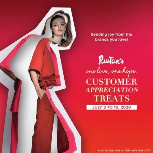 Enjoy Rustan's Customer Appreciation Treats from July 3 to 16 2020