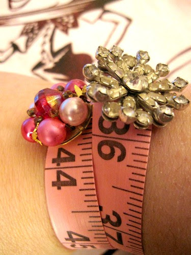 Pink Tape Measure Bracelets! 17