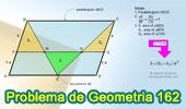 Problema de Geometría 162 (ESL): Paralelogramo, Razón, Proporciones, Triangulo, Área.