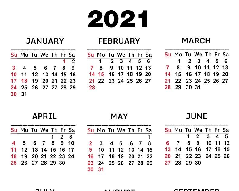 Printable Calendar 2021 With Holidays Usa   Lunar Calendar