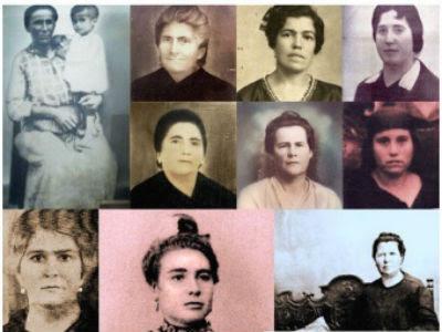 Los rostros de algunas de las 17 fusiladas.