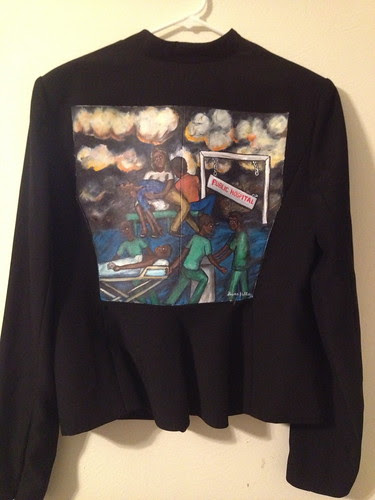 """""""Silent No More""""a jacket for Alice Mwongera"""