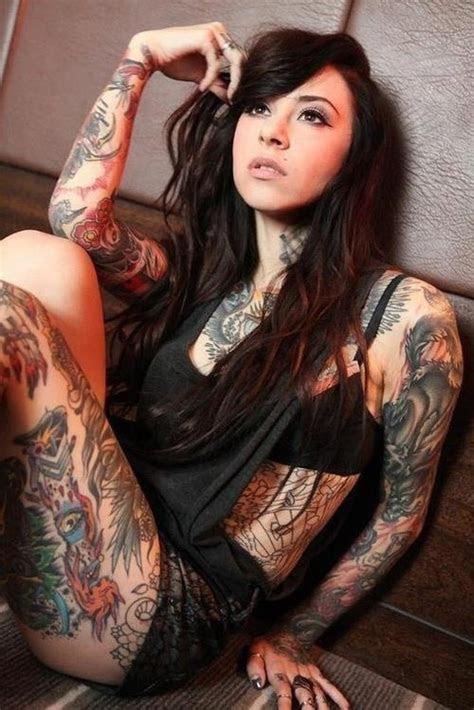 full body tattoo girl pic sick tattoos blog news