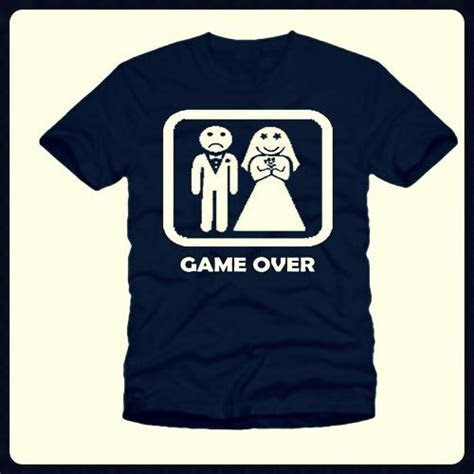 Game Over Stag Hen T Shirt