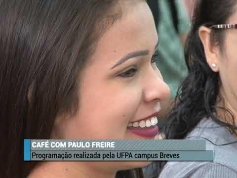 Café com Paulo Freire em alusão ao dia da educação na UFP