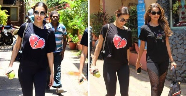 Arjun's ladylove Malaika puts on 'heartbroken' t-shirt after actor gives marriage statement