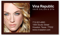 BCS-1059 - salon business card