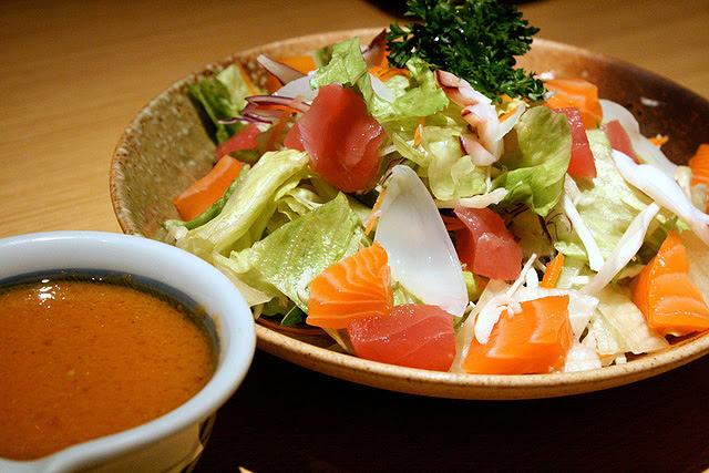 Sashimi salad S$9