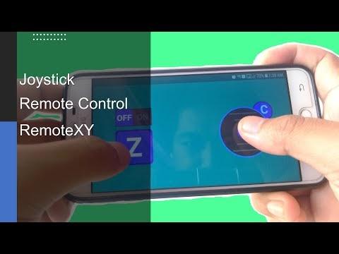 Joystick Remote Control Car using Phone and RemoteXY