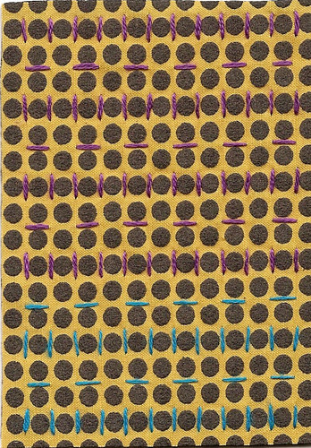 Yellow Polka Dot Pattern #3