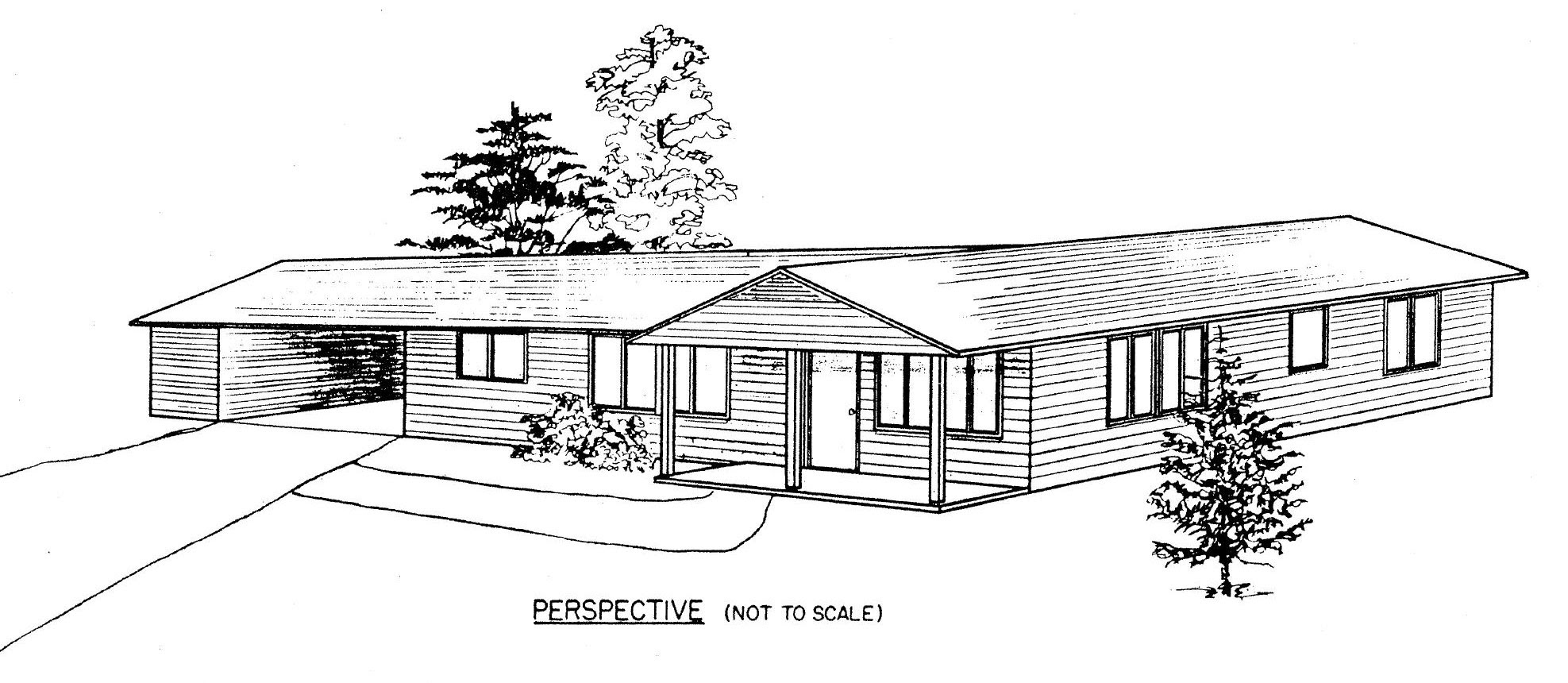 Free Ranch Style House Plans with 2 Bedrooms | Ranch Style Floor Plan