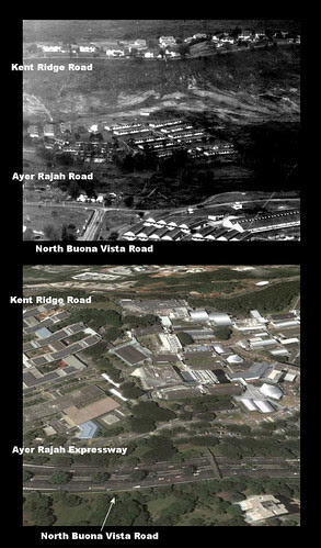 Junction of Ayer Rajah and North Buona Vista Rd
