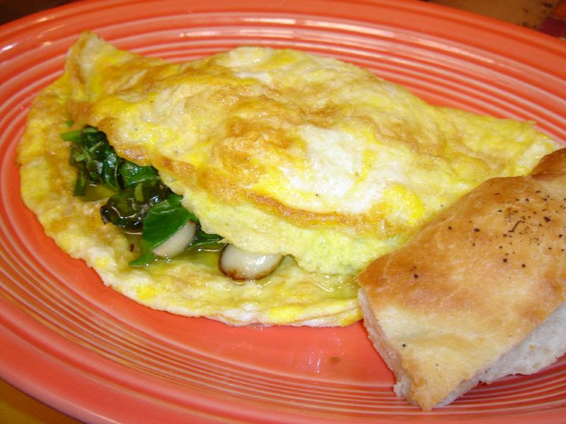 Spinach & Ricotta Omelet