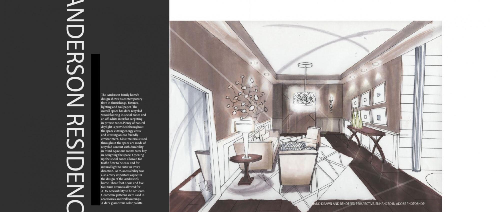Interior Design Student Portfolio Examples - DMA Homes ...