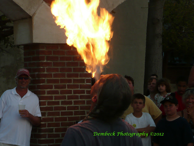 Fire Eater in Key West