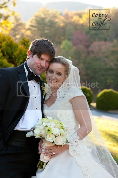 Lake Toxaway Country Club Wedding in the fall