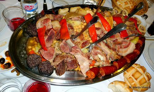 y el sábado: cocido madrileño