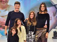 Rodrigo Faro é homenageado pelas filhas na TV: 'Ser pai é meu melhor papel'