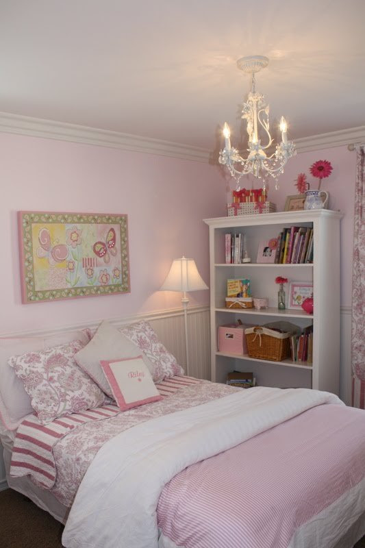 A Little Girl39;s Pink Bedroom  A Thoughtful Place