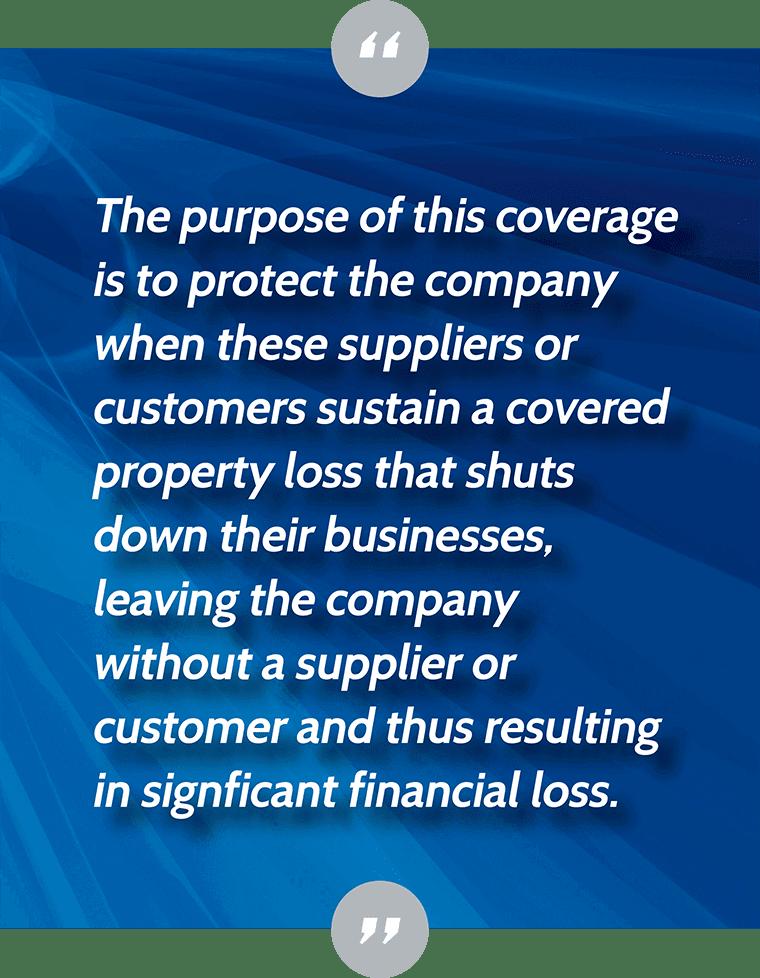 Contingent Dependent Properties Insurance - Direct vs ...